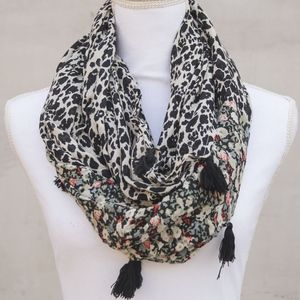 Pins & Needles | Cheetah Print Infinity Scarf